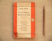 Oscar Wilde short stories Lord Arthur Savile's Crime and other stories orange penguin paperback