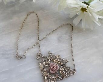 Rose Filigree Necklace