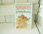 Vintage book Seashells of North America Golden field guide identification 1968