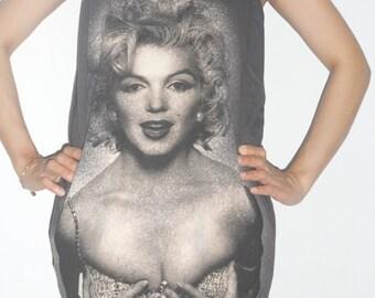 Marilyn Monroe  Lady Singlet T-Shirt Mini dress