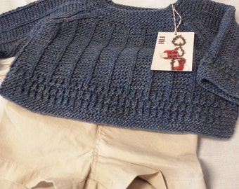 Boho Baby Sweater