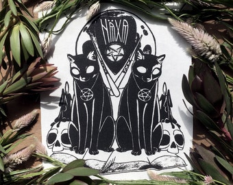 Häxa Spell Back Patch / Altar Cloth