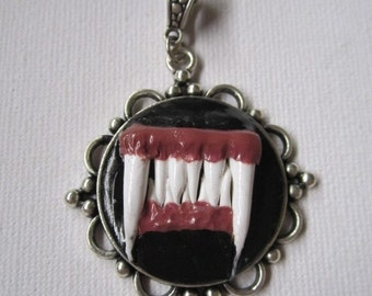 Werewolf Mouth Pendant