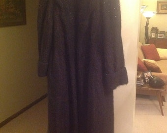 Sale 50% Off! Beautiful Carmel by the Sea Full Length Coat Vende Tti Large