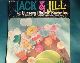 "Jack and Jill nursery rhyme favourites, 45"" vinyl."