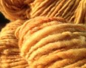 Copper Portuguese merino hand spun & dyed