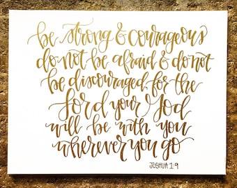 CUSTOM Scripture Canvas