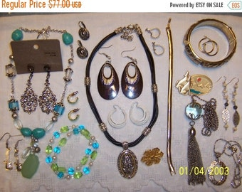 20% OFF, EVERYTHING. Vintage Jewelry (Lot 98). Med. and Small.