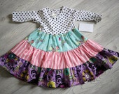 Size girls 12 months.   Clearance, free shipping.
