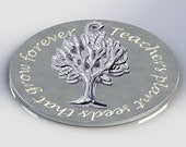 Tree necklace, tree jewelry, tree of life gift, silver necklace, TREE OF LIFE, teachers gift, birthday gift, gift for her, silver pendant
