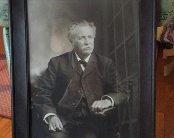 Antique Vintage Instant Ancestor Photograph