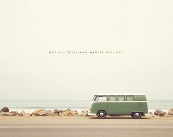 California Dreaming, Hippie Van, Travel Van, Hippie Van Photography, Hippie Van Print, Hippie Van Art, Wanderlust Art, Wanderlust Print