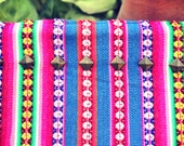 Studded Colorful Padded Pouch Peruvian Textile Pouch (kindle, tablet, cosmetic, etc)