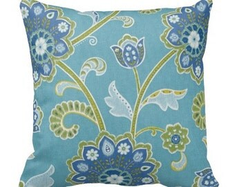 Red Blue Outdoor Pillows Throw Pillow Patio By Finefreshdesign