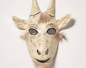 paper mask goat