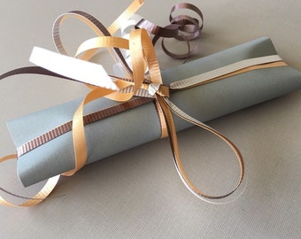 Gift Wrapping with your purchase, Wrapping Paper, Tissue Paper, and Ribbons