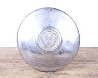 Vintage VW Hubcap / Rusted VW Bug Hubcaps / Old Volkswagen Hubcap / VW Decor / Volkswagen Decor / Automotive Decor / Garage Decorations