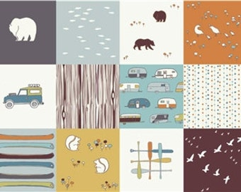 Camp Sur Patchwork From Birch Organic Camp Sur Collection by Jay-Cyn Designs