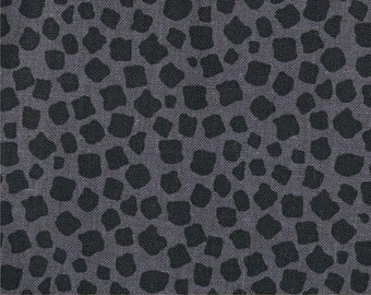 Charcoal Migration Giraffe Spots from Michael Miller's Migration Collection