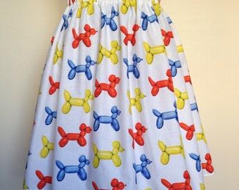 Balloon Dog Skirt
