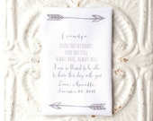 GRANDFATHER / GRANDMOTHER / FAMILY handkerchief . loved you yesterday, love you still . always will printed hankie . cotton hanky