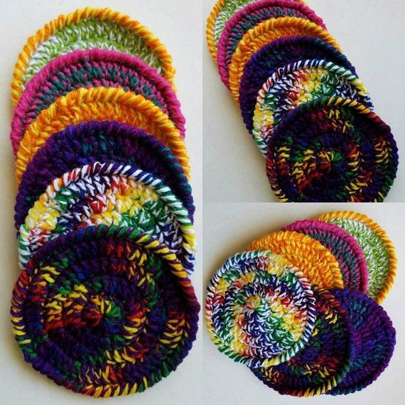 Crocheted Frizbee - flying disc