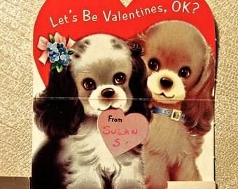 VIntage Dogs Valentine
