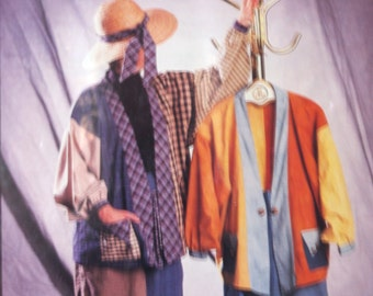 Sewing patterns coat and pants