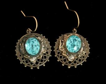 Wedding Earrings, Handmade with Vintage Jewelry, Vintage Wedding Jewelry, Wedding Earrings, Pierced Earrings, Dangle Earrings,