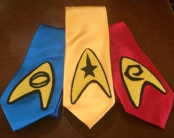 Star Trek TOS Command, Sciences, & Communications Ties