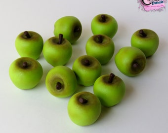 Green Apple Cake Toppers