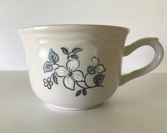 The Covington Edition Stoneware Tea Cup