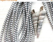 30%OFF SALE Faux pearls, czech beads, Full Strand - Satin Silver Grey - tiny spacers, round, druk - 2mm - 150Pc - 1541