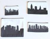 Custom Skyline Silhouette Clutch Purse - ATL