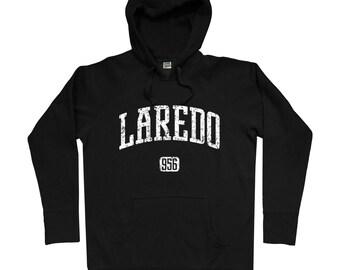 Laredo 956 Hoodie - Men S M L XL 2x 3x - Laredo Texas Hoody, Sweatshirt, Nuevo Laredo - 4 Colors