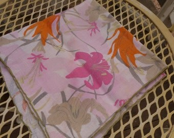 Vera Look  Napkin Punch Colors Dinner Napkin 70s colors