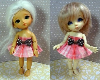 Pink cute dress for Lati Yellow/ Pukifee doll