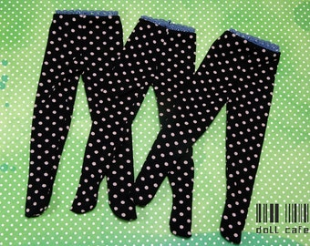 YOSD doll leggings 1/6 bjd ***polka dots*** fairyland littlefee