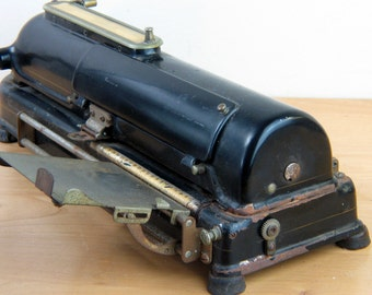 Antique Todd Protectograph Co. Check Writer - Steampunk Authenticity