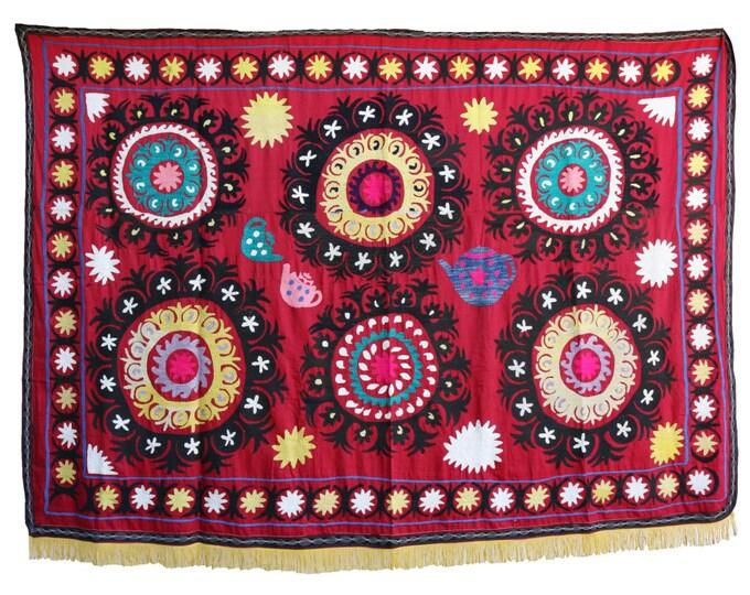 Handmade Vintage Suzani NL3003
