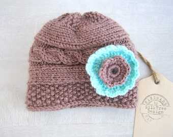 Baby Girl Beanies, Knit Baby Girl Hats, Baby Beanie Hat, Knit Baby Hat, Girls Beanie Hats, Newborn Baby Hats,Baby hat