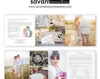 Wedding Photographer Price Guide Marketing Template, Photography Template, Photo Price Guide, Trifold Flyer Design, MW301