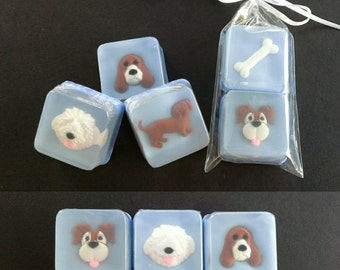 Puppy Soap Favors, 10 sets
