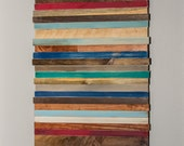 Rustic Wood, Wall Art, Abstract Wall Hanging, Office Decor, Home Decor, Reclaimed, Salvaged