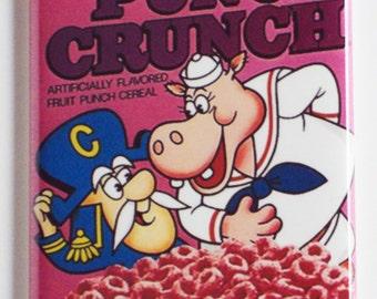 Punch Crunch Cereal Box Fridge Magnet