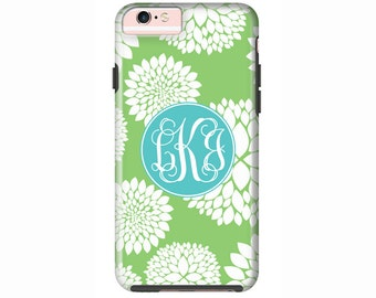 Custom iPhone 7 or iPhone 7 Plus Cases | Personalized Case Mate Tough or Barely There cases  - iPhone 6, iPhone 6 Plus, iPhone SE - Blooms