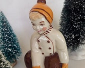 Ceramic Arts Studio -- Winter Willy -- Four Seasons Collection -- 1940's