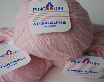 3 skeins Pingouin pure new wool