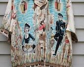 Vintage shirt from BC Ethic Retro 1950s Beatnik era for La Roca