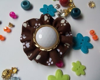 Sewing Flower Embellishments. Handmade Flower Applique.